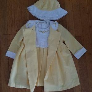 Little Bitty 3 piece dress set